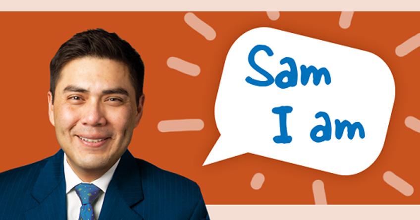 Sam I am Feature Image