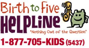 Birth to Five Helpline