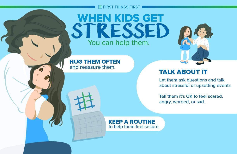 When kids get stressed