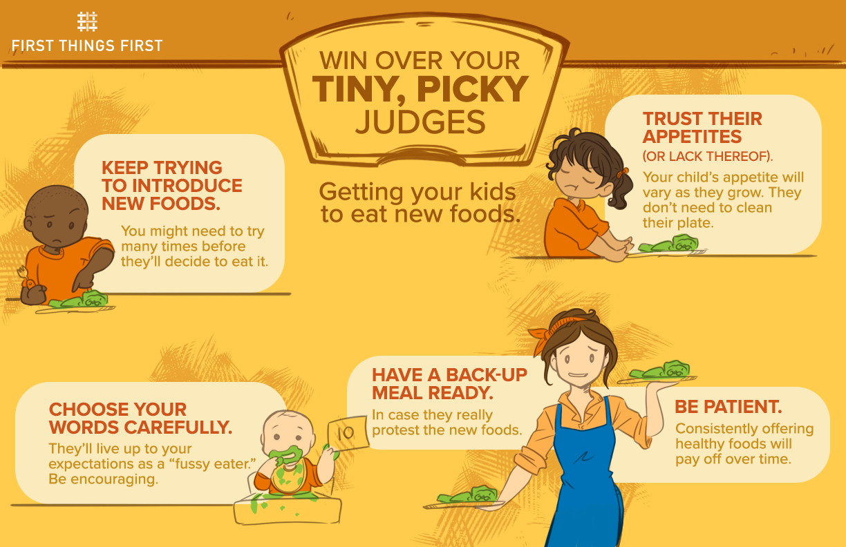 Win over your tiny, picky eaters
