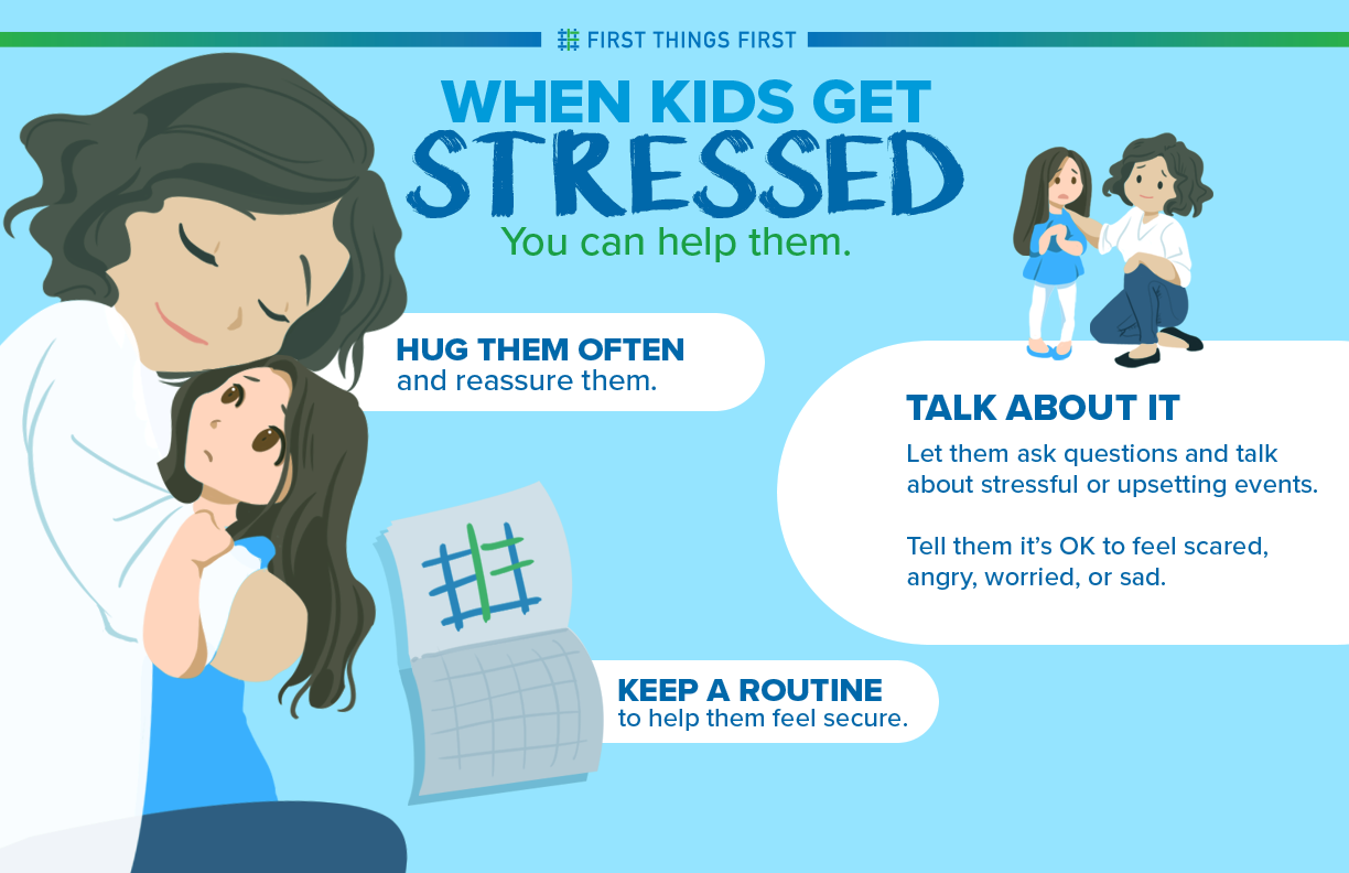 You can help when kids get stressed