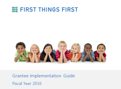 Grantee Implementation Guide FY2018