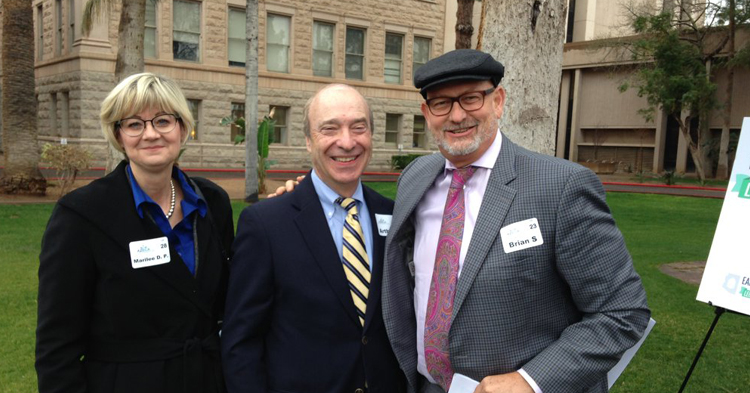 CEO with Art Rolnick and Brian Spicker