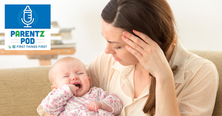 podcast strong emotions stress in young children and parent