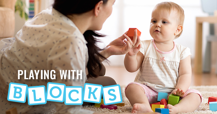 Block play helps build STEM skills