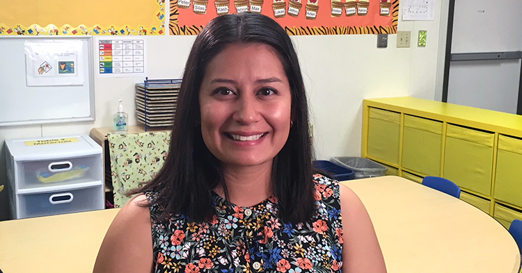 Preschool teacher is nominated for Arizona Teacher of the Year.