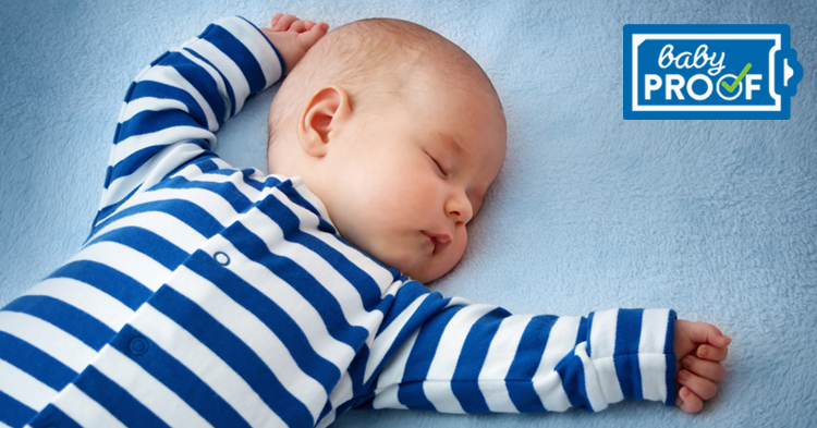 babies sleep more when they're more active