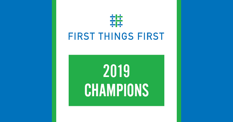 2019 champions logo