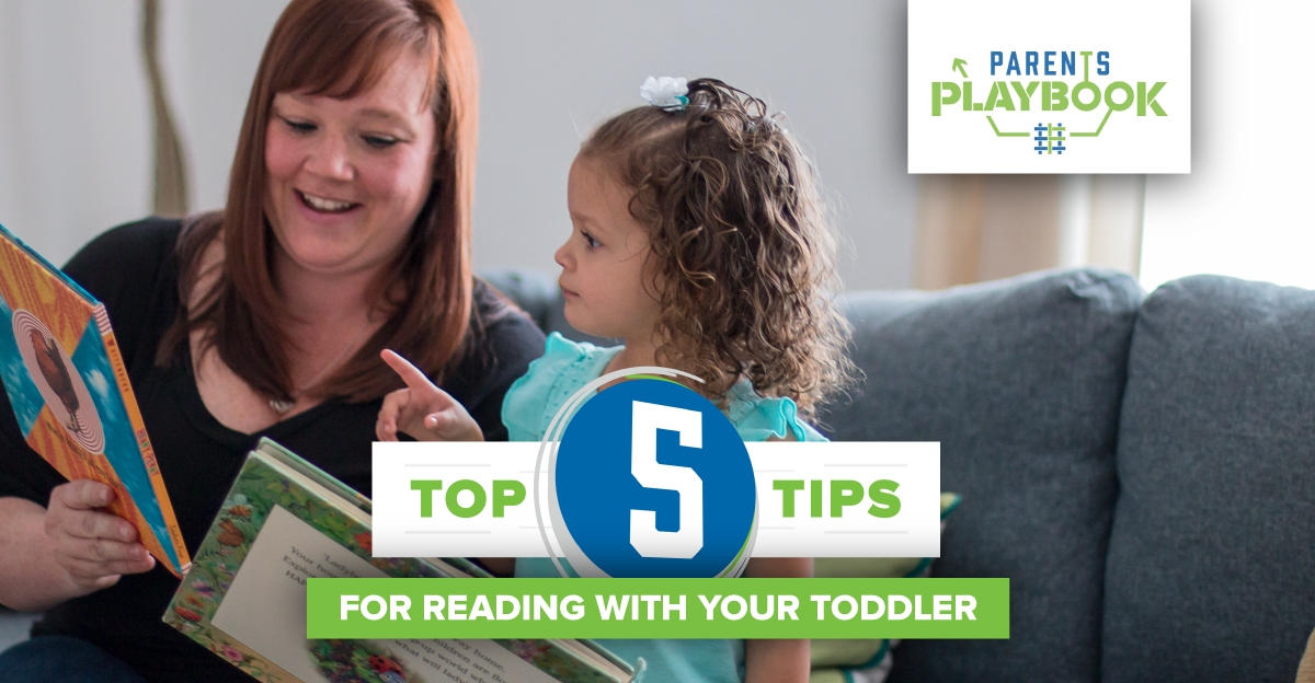 top 5 tips for reading with your toddler