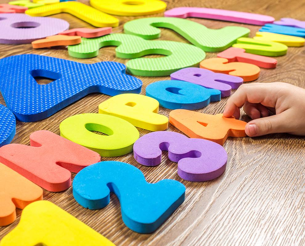 Counting &  Letter Games