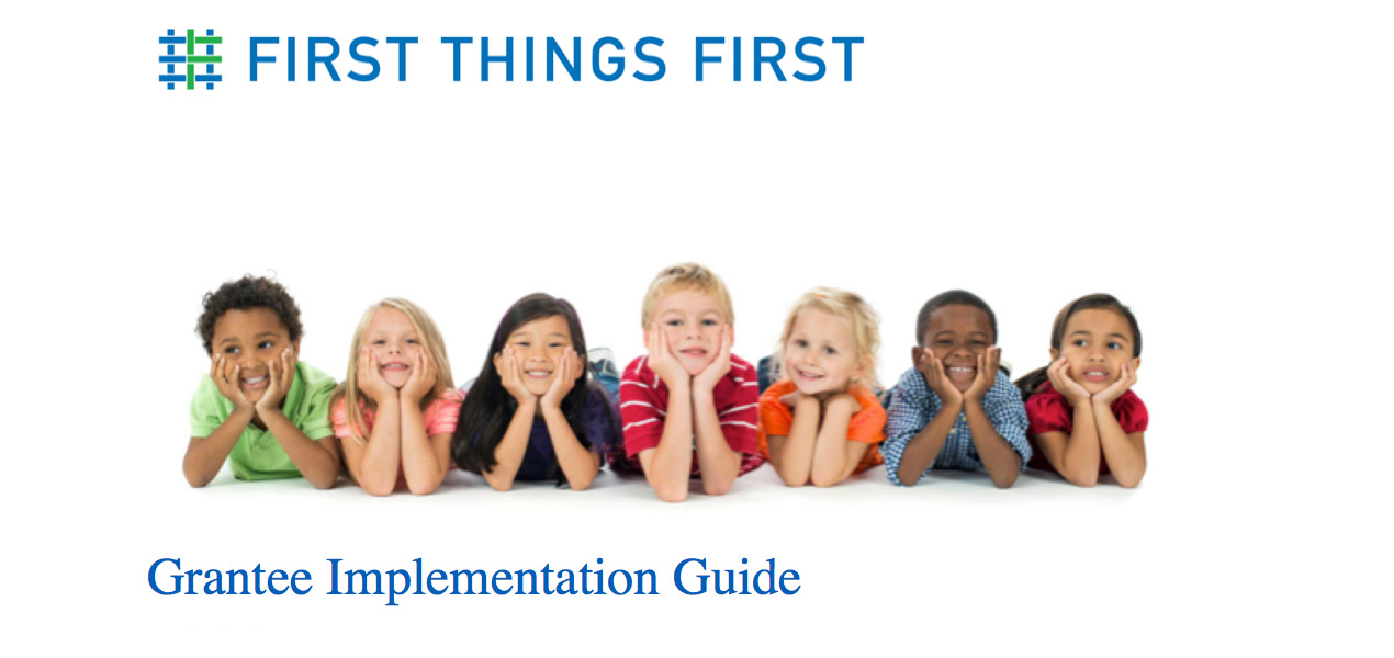 Grantee Implementation Guide