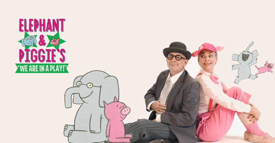 Elephant and Piggie actors