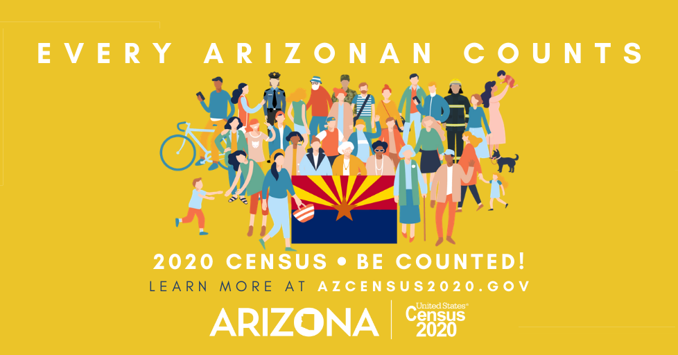Arizona census graphic