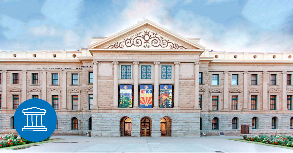 Picture of the State Capitol in Arizona