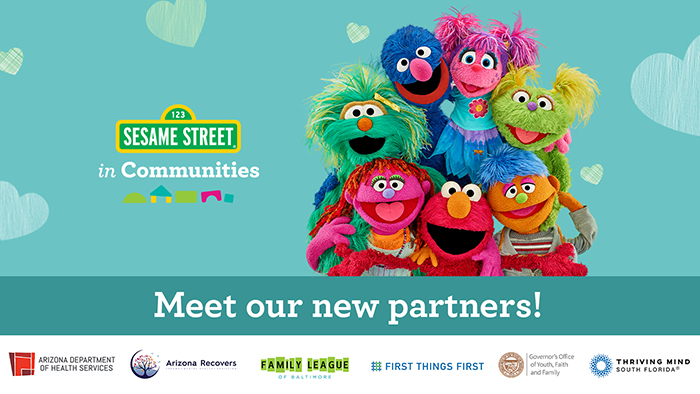 Sesame Street Muppets in a group