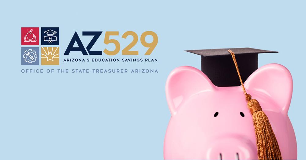 pink piggy bank with graduation cap and tassle