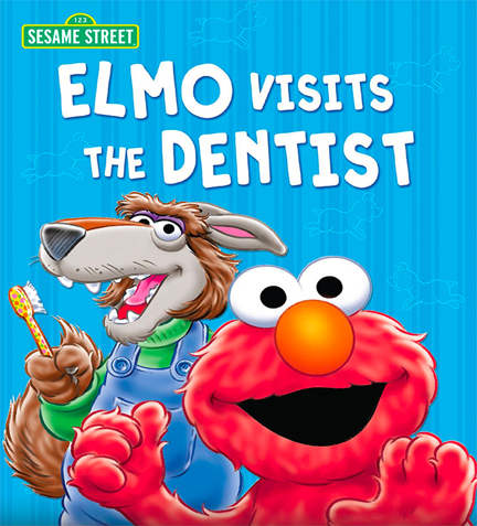 sesame street book about taking your child to the dentist