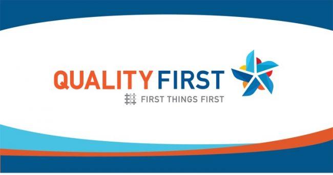 Quality First logo